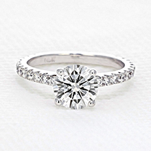 Micro Prong Engagement Ring
